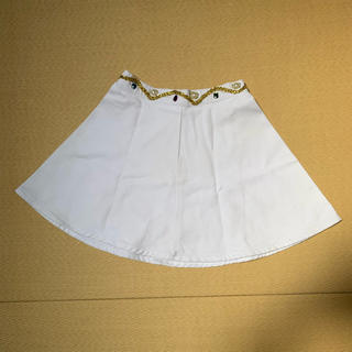 フィグアンドヴァイパー(FIG&VIPER)のfig&viper ホワイトミニスカート(ミニスカート)