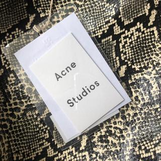 アクネ(ACNE)の新品 ACNE iPhone スマホケース クリアケース  タグ(その他)