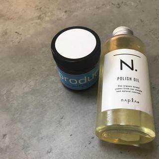 プロダクト(PRODUCT)のproduct ヘアワックス N. ポリッシュオイル(オイル/美容液)