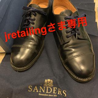SANDERS - 値下げ!SANDERS 革靴 ネイビー サイズ:7