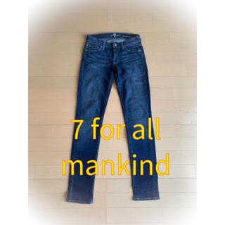 セブンフォーオールマンカインド(7 for all mankind)の7 for all mankind セブンフォーオールマンカインド 24インチ(デニム/ジーンズ)