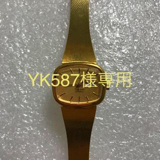 オリエント(ORIENT)のオリエント 女性用 腕時計 ゴールド 自動巻 日本製 新品 未使用(腕時計)