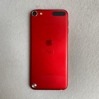 アイポッドタッチ(iPod touch)のiPod touch 第5世代 32GB レッド(ポータブルプレーヤー)