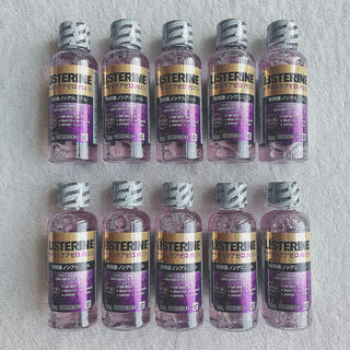 リステリン(LISTERINE)のリステリン トータルケアゼロ 試供品 セット(マウスウォッシュ/スプレー)