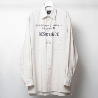 ウィザード(Wizzard)のWizzard  / タイポグラフィーメッセージプリントシャツ(シャツ)
