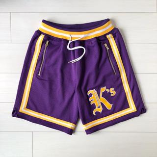ミッチェルアンドネス(MITCHELL & NESS)のKITH mitchell&ness Los Angeles Lakers(ショートパンツ)
