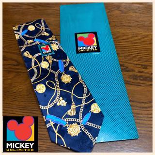 ディズニー(Disney)の【新品未使用】MICKEY+UNLIMITED ミッキーネクタイ ディズニー 絹(ネクタイ)