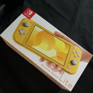 ニンテンドースイッチ(Nintendo Switch)のNintendo Switch Lite イエロー スイッチライト 任天堂(家庭用ゲーム機本体)