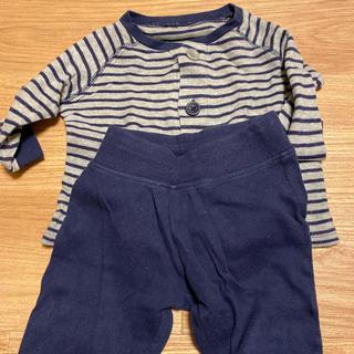 ムジルシリョウヒン(MUJI (無印良品))の無印良品 80センチパジャマ上下セット(パジャマ)