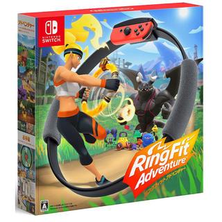 ニンテンドースイッチ(Nintendo Switch)のリングフィット アドベンチャー Switch パッケージ版(家庭用ゲームソフト)