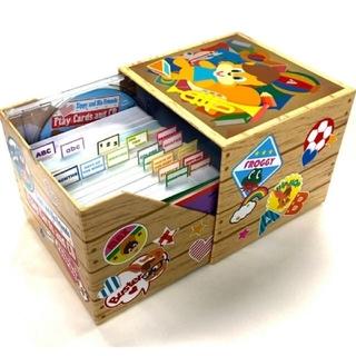 ディズニー(Disney)の【新品未開封】ズィッピーと仲間たち CDつきプレイカード カード DWE(知育玩具)