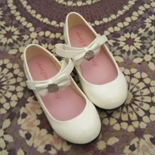 ディズニー(Disney)のビビディバビディブディック 靴 白 22cm ディズニー(フォーマルシューズ)