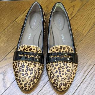 ロックポート(ROCKPORT)の最終価格 ROCK PORT ローファー 豹柄 レオパード(ローファー/革靴)