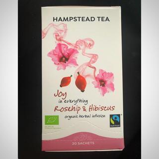ハンプステッド 紅茶☆オーガニックローズヒップ/ハイビスカスティー20包🌹🌺(茶)