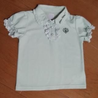 アクシーズファム(axes femme)のaxes femme ポロシャツ 130(ブラウス)