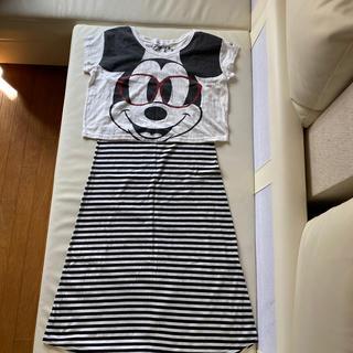 ディズニー(Disney)のマキシワンピース(ロングワンピース/マキシワンピース)