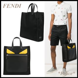 フェンディ(FENDI)の*FENDI*バッグバグズ トートバッグ 送料込(トートバッグ)