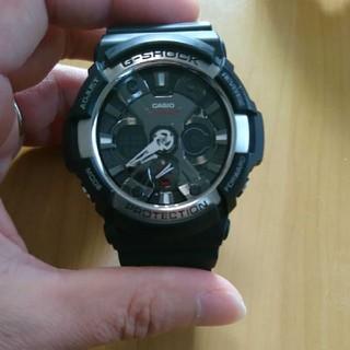 カシオ(CASIO)のジーショック ブラック シルバー(腕時計(デジタル))