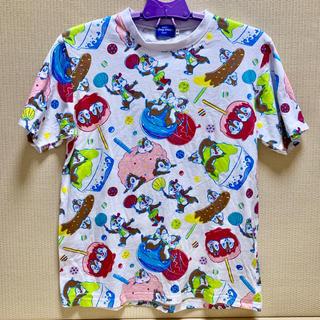 チップアンドデール(チップ&デール)の東京ディズニーリゾート 半袖Tシャツ 夏祭り チップとデール クラリス(Tシャツ(半袖/袖なし))