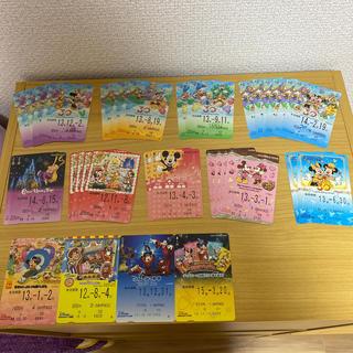 ディズニー(Disney)のリゾートライン フリーきっぷ 33枚(鉄道乗車券)