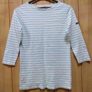 アップタイト(uptight)のボーダーTシャツ(カットソー(長袖/七分))
