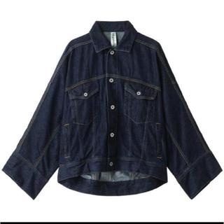 エンフォルド(ENFOLD)のnagonstans ナゴンスタンス デニムジャケット サイズ36  Gジャン(Gジャン/デニムジャケット)