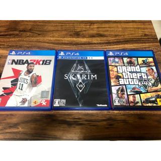 プレイステーション4(PlayStation4)のたつ様専用 ps4ゲームソフト スカイリム(家庭用ゲームソフト)