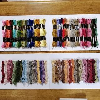 オリンパス(OLYMPUS)の刺繍糸 OLYMPUS★82本★set  オリムパス 25番 刺しゅう糸(生地/糸)