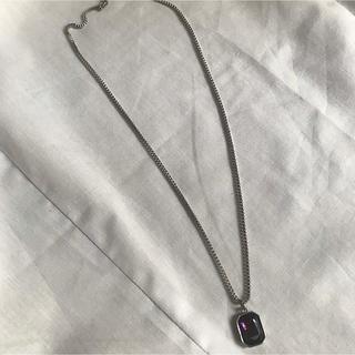 スタイルナンダ(STYLENANDA)のV BLACK ネックレス(ネックレス)