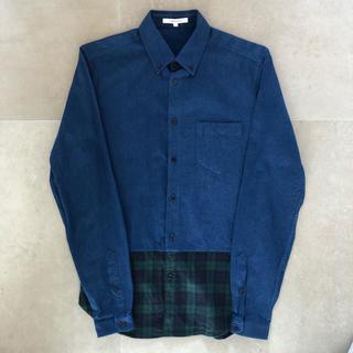 カルヴェン(CARVEN)のCARVEN バイカラーボタンダウンシャツ(シャツ)