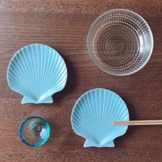 ザラホーム(ZARA HOME)の未使用 ホタテのお皿セット♡(食器)