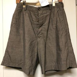 ポールハーデン(Paul Harnden)のPaul Harnden women's belt shorts セメント(ショートパンツ)