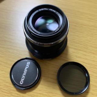 オリンパス(OLYMPUS)の単焦点レンズ OLYMPUS M.ZUIKO DIGITAL 45mm F1.8(レンズ(単焦点))