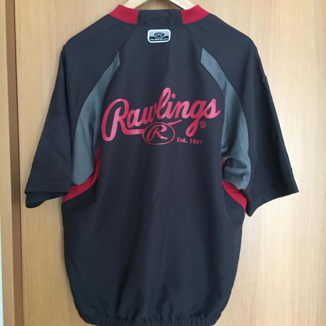Rawlings(ローリングス)のローリングス 半袖Vジャン スポーツ/アウトドアの野球(ウェア)の商品写真