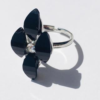 送料無料キラキラ可愛い姫リング 指輪発表会結婚式ドレス母の日プリンセスフラワー(リング(指輪))