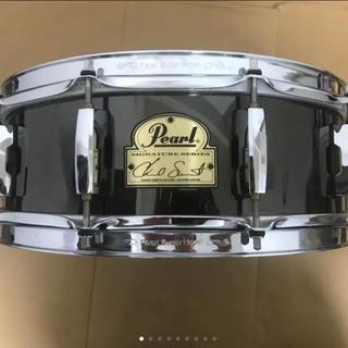 Pearl CS1450 スネア 中古 ケース付き(スネア)