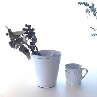 アッシュペーフランス(H.P.FRANCE)の新品 アスティエ Perles フラワーベース パール astier 花瓶 花器(花瓶)