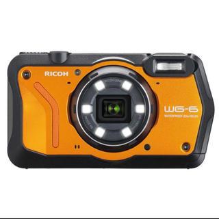 リコー(RICOH)の新品未使用 RICOH WG-6 オレンジ 防水コンパクトデジタルカメラ(コンパクトデジタルカメラ)