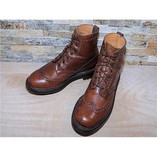 チャーチ(Church's)のチャーチ Custom Grade ウイングチップブーツ 茶 27,528cm(ブーツ)