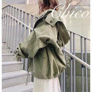 フーズフーチコ(who's who Chico)の新作🐝¥9790【Chico】モッズコート マウンテンコート(モッズコート)
