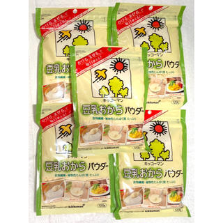 キッコーマン(キッコーマン)の【新品】キッコーマン 豆乳おからパウダー 5袋(豆腐/豆製品)