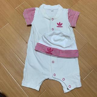 アディダス(adidas)のベビー服 70 女の子 まとめ売り(ロンパース)