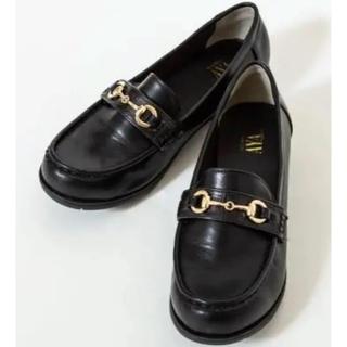 シマムラ(しまむら)のプチプラのあや ビット ローファー 4L(ローファー/革靴)