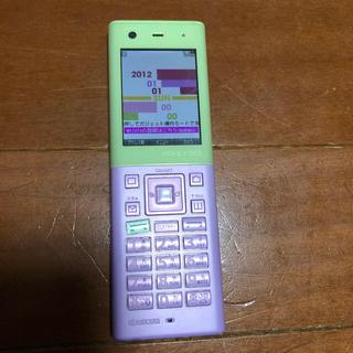 キョウセラ(京セラ)の携帯電話(携帯電話本体)