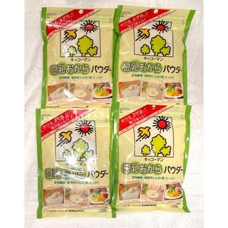 キッコーマン(キッコーマン)の【新品】キッコーマン 豆乳おからパウダー 4袋(豆腐/豆製品)