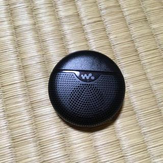 ウォークマン(WALKMAN)のSONY ウォークマン スピーカー 黒色(スピーカー)