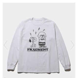 フラグメント(FRAGMENT)のS FRAGMENT PEANUTS LONG SLEEVE TEE (Tシャツ/カットソー(七分/長袖))