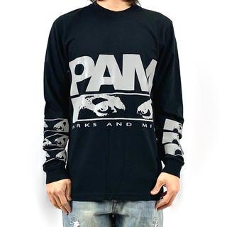 パム(P.A.M.)の新品 パム P.A.M. PERKS AND MINI リフレクター ロゴ 長袖(Tシャツ/カットソー(七分/長袖))