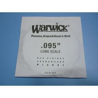Warwick(ワーウィク)/バラベース弦 赤ラベル .095 ニッケル(弦)