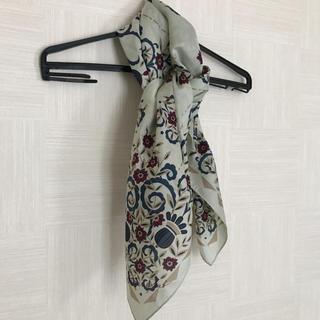 アトリエサブ(ATELIER SAB)のAtelier Sab シルク スカーフ(バンダナ/スカーフ)